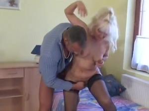 sweet albino euro granny assbanged inside