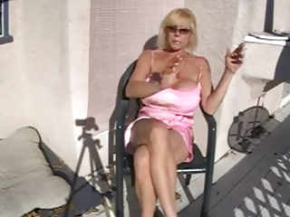 awesome slutty old smoking and relaxing