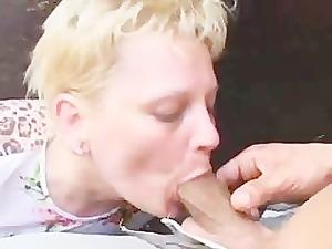 elderly lady loves arse