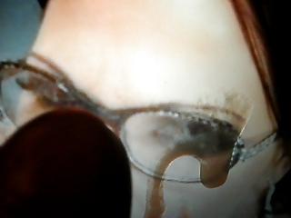 virtual bukkake tribute to cougar inside glasses