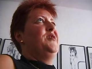 slutty redhaired grownup german
