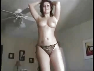 awesome lady dancing