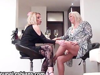 blonde older  wife seduces part6