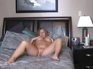 lady on webcam