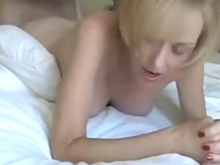 european grownup albino lady