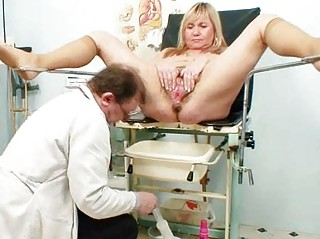 giant boobs albino older  hirsute vagina exam