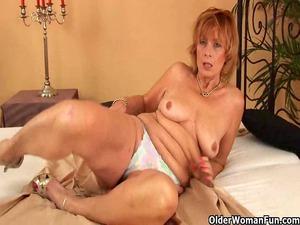 fat granny with hirsute cave licks libido