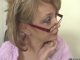 bureau angel gives head and takes nailed at the