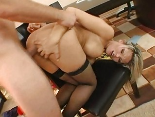 sweet naughty bleached woman obtains her stupid