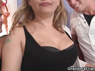 two boys gangbangs naughty woman