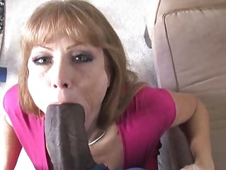 busty woman amp likes a sweet ebony penis