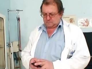 huge tits fat lady rosana gyno nurse examination