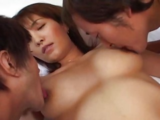 desperate japanese grownup housewife pierced at