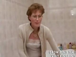 rooty grandma peeing and shaving,.,..