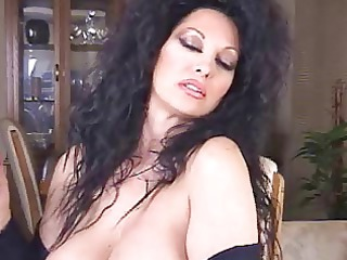 hot brunette cougar smoking 120s solo