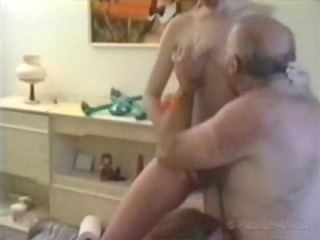 2 homosexual woman amateur + grandpa 01