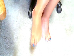 awesome lady and her sweet feet 1