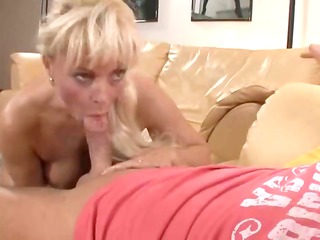 rooty blonde milf from europe works uneasy to