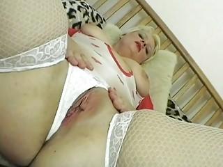 slutty pale woman girl posing into wonderful brief