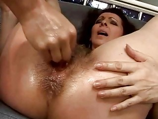 shaggy old taking her kitty pierced difficult