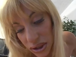 stunning youthful chick pleases with her clitoris