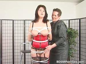 bondage game where brunette busty lady part6