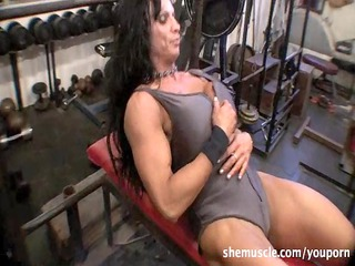 rhonda lee quaresma  older  muscle