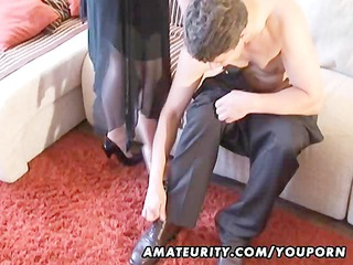 desperate fresh woman licks and copulates with