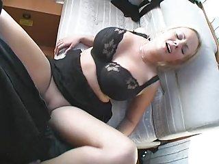naughty woman gangbanged and facial inside
