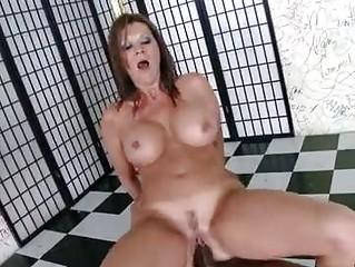 horny matured raquel devine sits her wet vagina
