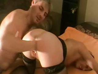 brutally fisting the wifes loose cave