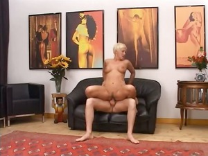 blondie grown-up having vagina fisted difficult
