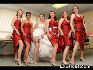 natural super amateur brides!