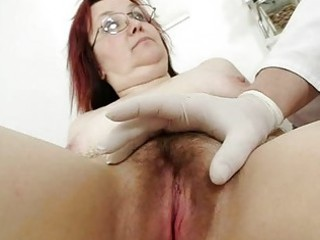 shaggy grandma enema during a medical exam