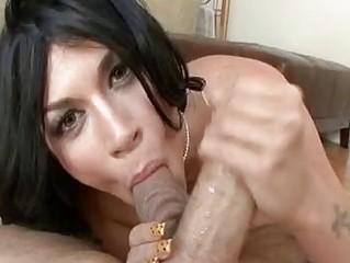 balls tasting blond brunette woman into high