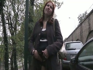 ginette a redhead lady deepthroated