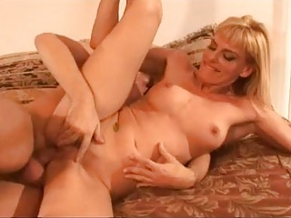 beautiful albino lady with awesome anal drives