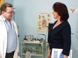 bushy vagina grandma visits pervy woman nurse