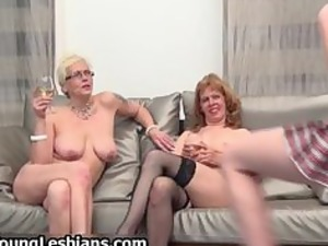 two naughty older wifes having part5