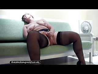 american nylons lady plays her cave
