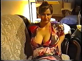 maiden flashing huge bossom into a underwear