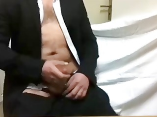 hot grownup man cumshots a load