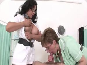 femdom like older nurses give handjob