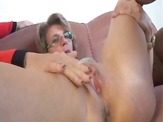 cougar german sex therapist makes a house call