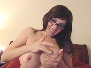 spurting her nipples
