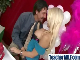 beautiful mature babe teachers gets hardcore