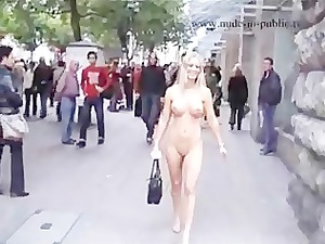hot bleached nude in outdoor part2