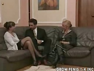 old and woman into nylons bang part1