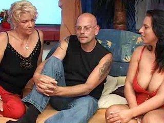 nothing enjoy a hot elderly grownup german triple