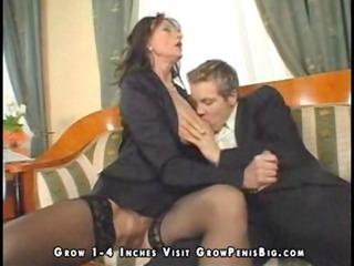 horny mature inside dark pantyhose craves libido